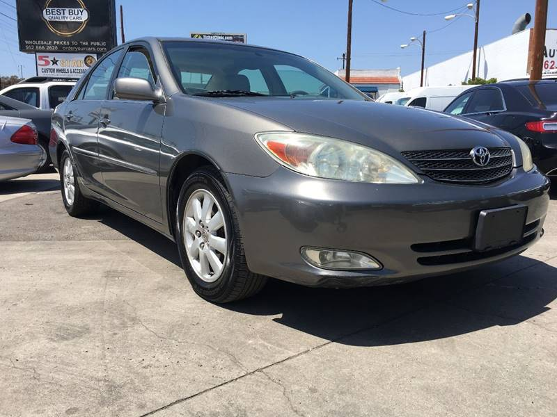 2003 Toyota Camry For Sale At Best Buy Quality Cars In Bellflower CA