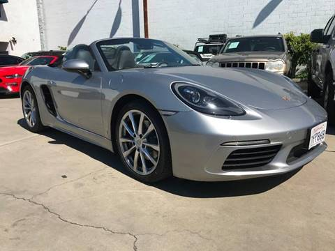 2017 Porsche 718 Boxster for sale in Bellflower, CA