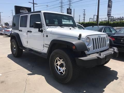 2015 Jeep Wrangler Unlimited for sale in Bellflower, CA