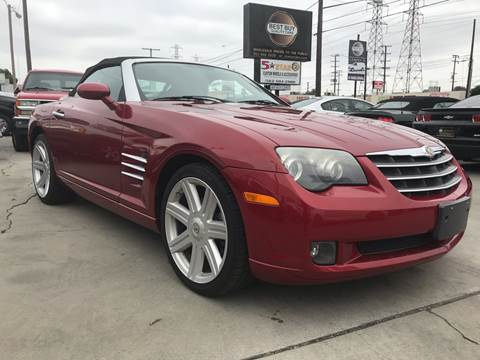 2005 Chrysler Crossfire for sale in Bellflower, CA