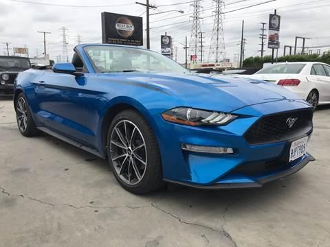 2019 Ford Mustang for sale in Bellflower, CA