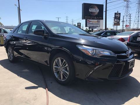2017 Toyota Camry for sale at Best Buy Quality Cars in Bellflower CA