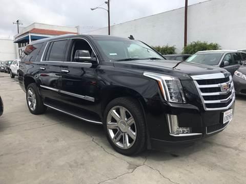 2018 Cadillac Escalade ESV for sale in Bellflower, CA