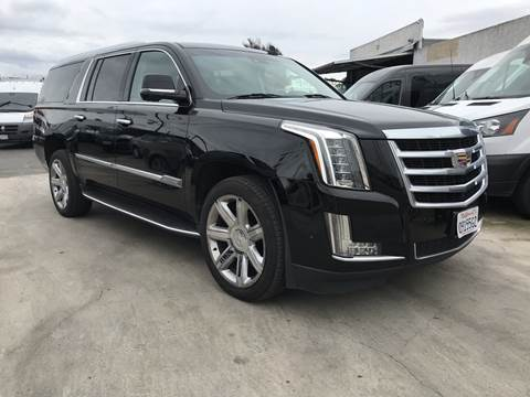 2018 Cadillac Escalade ESV for sale at Best Buy Quality Cars in Bellflower CA