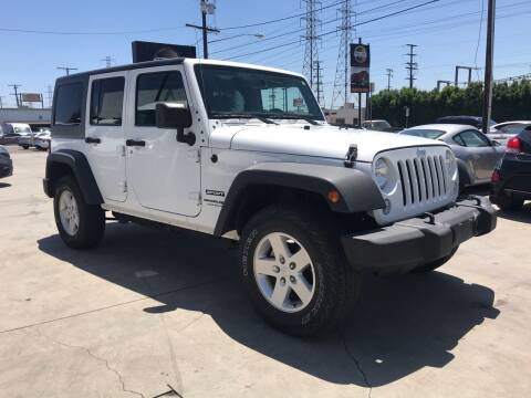2018 Jeep Wrangler JK Unlimited for sale at Best Buy Quality Cars in Bellflower CA