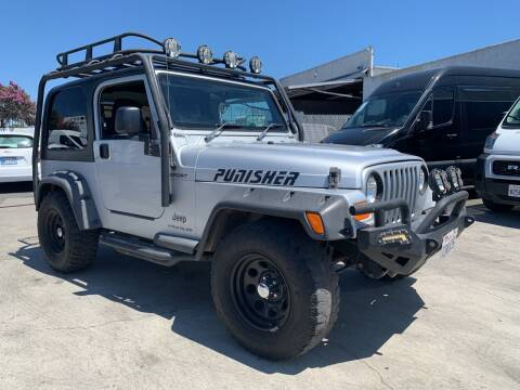 2006 Jeep Wrangler for sale at Best Buy Quality Cars in Bellflower CA