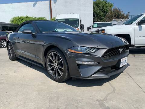 2019 Ford Mustang for sale at Best Buy Quality Cars in Bellflower CA