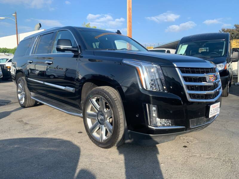 2020 Cadillac Escalade ESV for sale at Best Buy Quality Cars in Bellflower CA