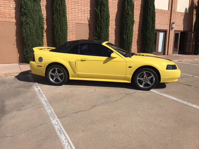 Contact us about this car & 2000 Ford Mustang GT 2dr Convertible In Sierra Vista AZ - Freedom ... markmcfarlin.com
