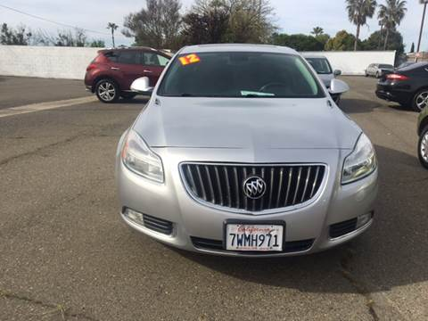 2012 Buick Regal for sale at Matador Motors in Sacramento CA