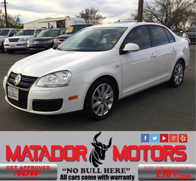 2010 Volkswagen Jetta for sale at Matador Motors in Sacramento CA
