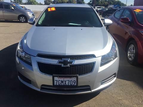 2014 Chevrolet Cruze for sale at Matador Motors in Sacramento CA
