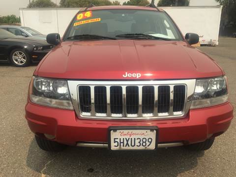 2004 Jeep Grand Cherokee for sale at Matador Motors in Sacramento CA