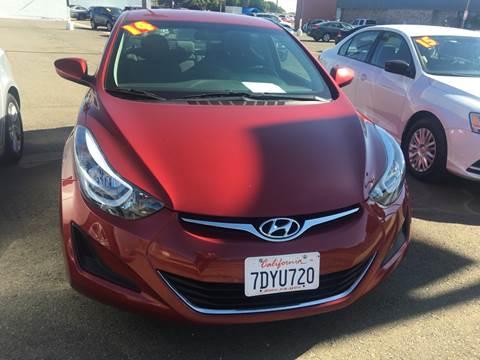 2014 Hyundai Elantra for sale at Matador Motors in Sacramento CA