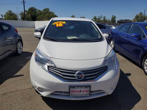 2016 Nissan Versa Note for sale at Matador Motors in Sacramento CA