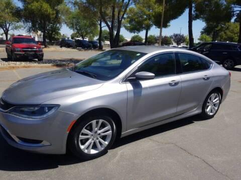 2016 Chrysler 200 for sale at Matador Motors in Sacramento CA