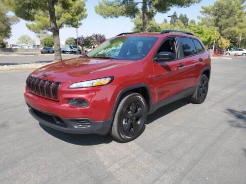 2017 Jeep Cherokee for sale at Matador Motors in Sacramento CA