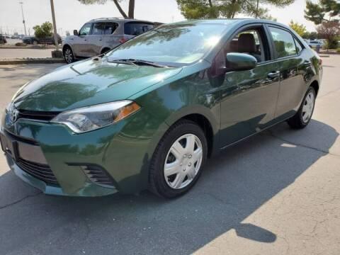 2015 Toyota Corolla for sale at Matador Motors in Sacramento CA