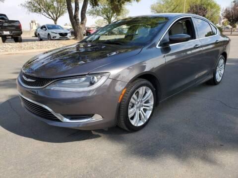 2015 Chrysler 200 for sale at Matador Motors in Sacramento CA