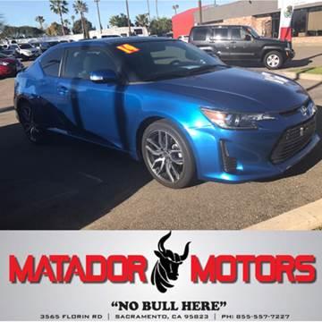 2014 Scion tC for sale at Matador Motors in Sacramento CA