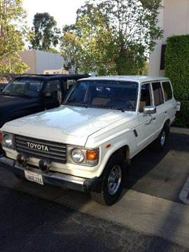 1983 Toyota Land Cruiser for sale at PRIUS PLANET in Laguna Hills CA