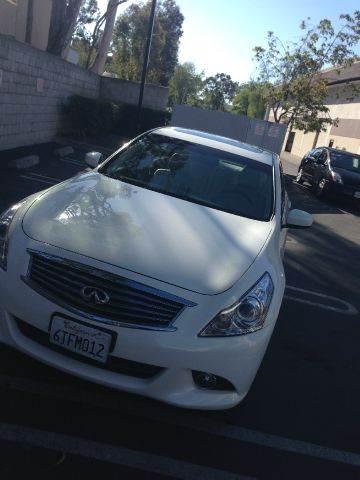 2012 Infiniti G25 for sale at PRIUS PLANET in Laguna Hills CA