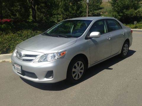 2011 Toyota Corolla for sale at PRIUS PLANET in Laguna Hills CA