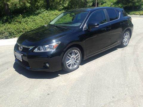 2011 Lexus CT 200h for sale at PRIUS PLANET in Laguna Hills CA