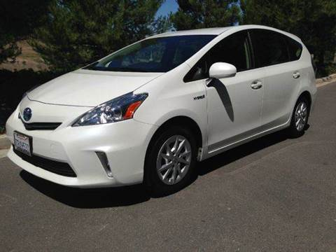 2013 Toyota Prius v for sale at PRIUS PLANET in Laguna Hills CA