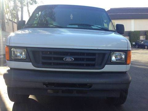 2006 Ford E-Series Cargo for sale at PRIUS PLANET in Laguna Hills CA