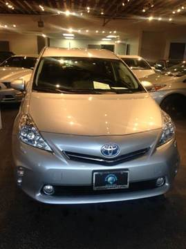 2012 Toyota Prius v for sale at PRIUS PLANET in Laguna Hills CA
