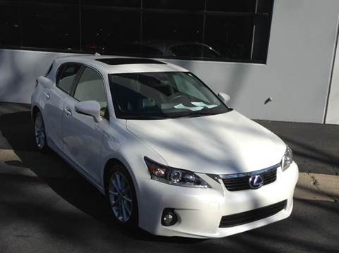 2013 Lexus CT 200h for sale at PRIUS PLANET in Laguna Hills CA