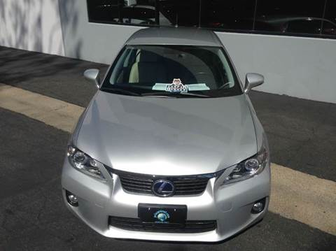 2012 Lexus CT 200h for sale at PRIUS PLANET in Laguna Hills CA