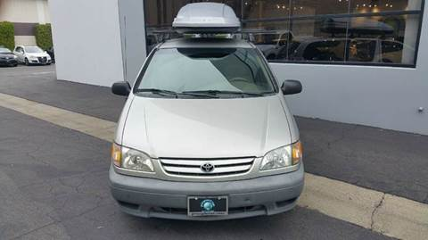 2001 Toyota Sienna for sale at PRIUS PLANET in Laguna Hills CA