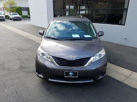 2011 Toyota Sienna for sale at PRIUS PLANET in Laguna Hills CA