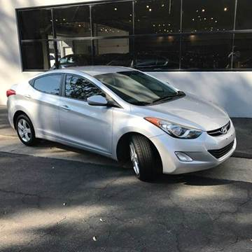 2012 Hyundai Elantra for sale at PRIUS PLANET in Laguna Hills CA