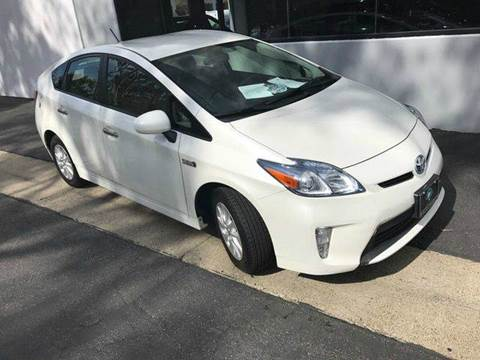 2013 Toyota Prius Plug-in Hybrid for sale at PRIUS PLANET in Laguna Hills CA