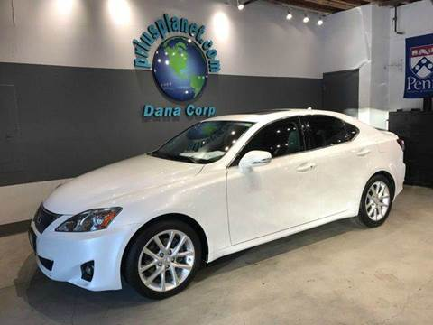 2012 Lexus IS 250 for sale at PRIUS PLANET in Laguna Hills CA