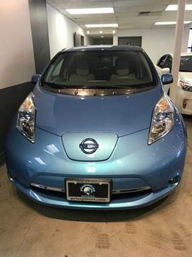 2012 Nissan LEAF for sale at PRIUS PLANET in Laguna Hills CA