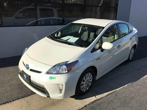 2014 Toyota Prius Plug-in Hybrid for sale at PRIUS PLANET in Laguna Hills CA