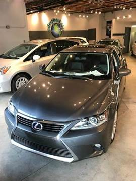 2015 Lexus CT 200h for sale at PRIUS PLANET in Laguna Hills CA