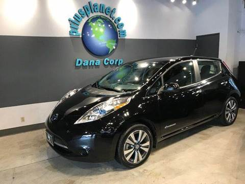 2014 Nissan LEAF for sale at PRIUS PLANET in Laguna Hills CA