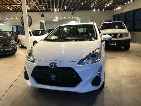 2016 Toyota Prius c for sale at PRIUS PLANET in Laguna Hills CA