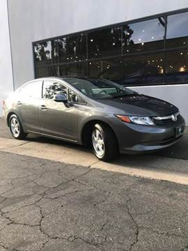 2012 Honda Civic for sale at PRIUS PLANET in Laguna Hills CA