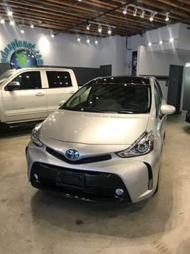 2015 Toyota Prius v for sale at PRIUS PLANET in Laguna Hills CA