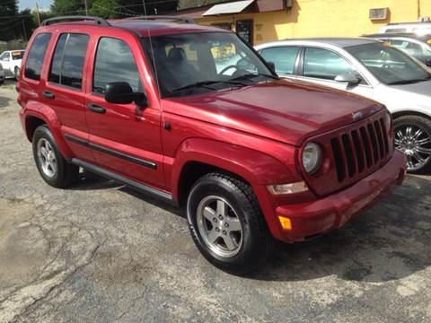 2005 Jeep Liberty for sale at Quality Auto Group in San Antonio TX