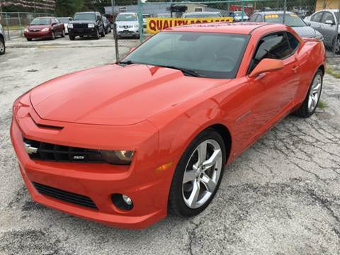 2010 Chevrolet Camaro for sale at Quality Auto Group in San Antonio TX