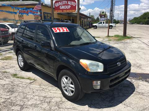 2002 Toyota RAV4 for sale at Quality Auto Group in San Antonio TX