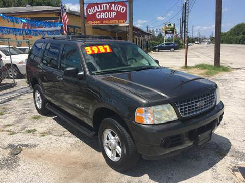 2005 Ford Explorer for sale at Quality Auto Group in San Antonio TX