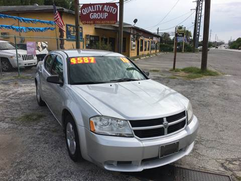 2010 Dodge Avenger for sale at Quality Auto Group in San Antonio TX